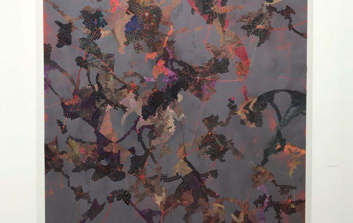 点と点をつなぐ創造性 - 坂本夏子「迷いの尺度ーシグナルたちの星屑に輪郭をさがして」