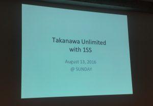 TAKANAWA UNLIMITED